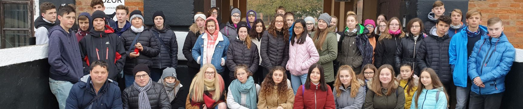Exkurze žáků ZŠ Unesco do Terezína a Lidic
