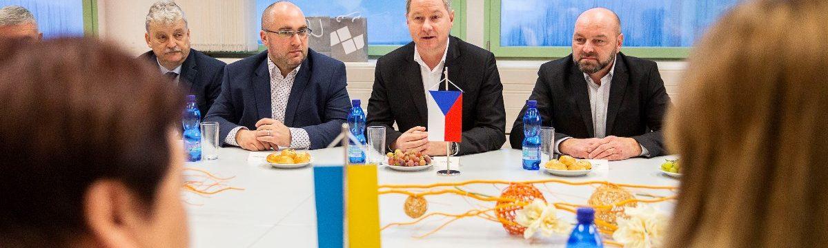 Představitelé kraje jednali o možnostech spolupráce s ukrajinskými pedagogy