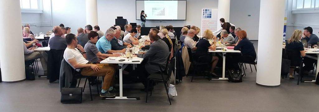 Ředitelé a ředitelky se sešli na krajském workshopu k akčnímu plánování