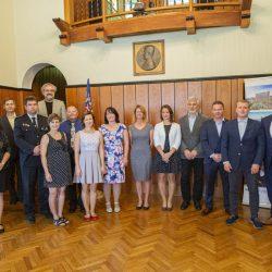 Představitelé kraje poděkovali dobrovolníkům pracujícím s mládeží