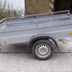Vozík přívěsný s plachtou