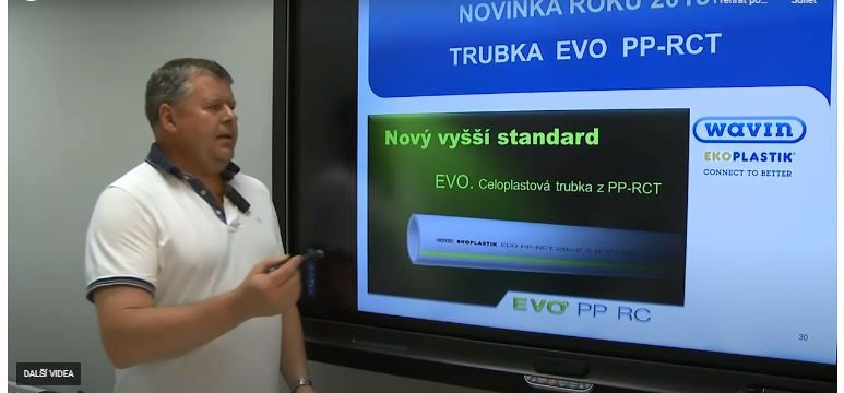 "SPŠ Otrokovice se účastní projektu ""Wavin do škol"""